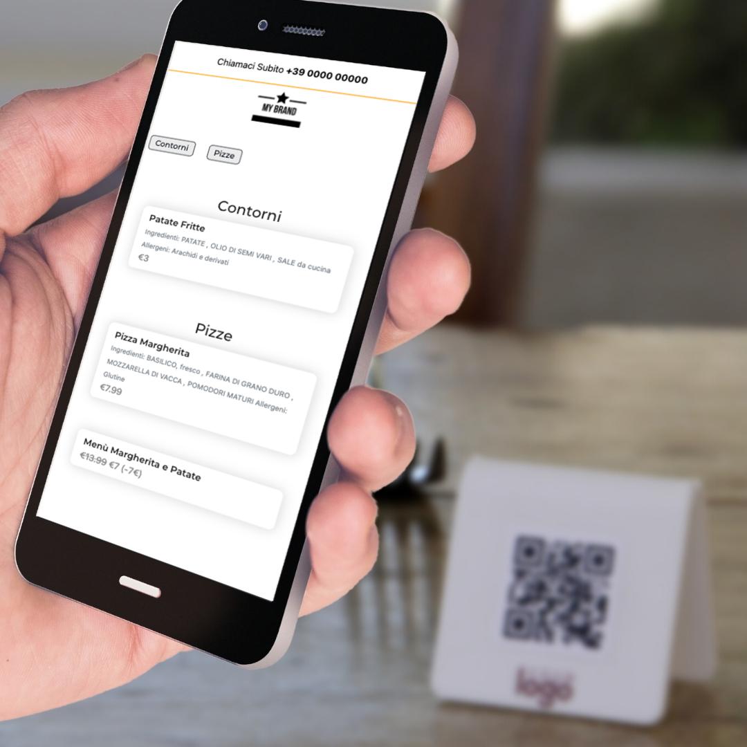 menu digitale mydeloo